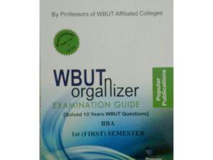 BBA 1st Semester (WBUT) Makaut Organizer Guide Book