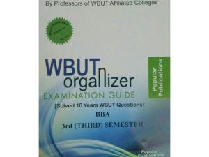BBA 3rd Semester (WBUT) Makaut Organizer Guide Book