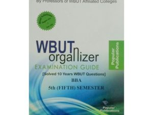 BBA 5th Semester (WBUT) Makaut Organizer Guide Book