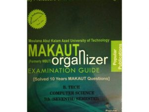 CSE 7th Semester (WBUT) Makaut Organizer Guide Book