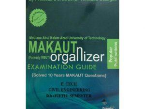 CIVIL 5th Semester (WBUT) Makaut Organizer Guide Book
