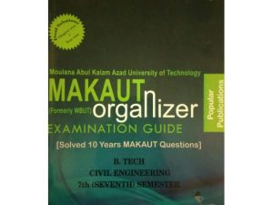 CIVIL 7th Semester (WBUT) Makaut Organizer Guide Book