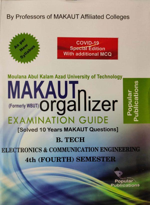 ECE 4th sem Makaut organizer 2020 covid 19