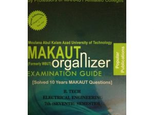 EE 7th Semester (WBUT) Makaut Organizer Guide Book