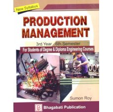 PRODUCTION MANAGEMENT by Sumon Roy for 3rd Year 6th Semester